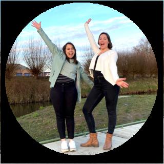 Melanie Schaekers en Tine Driessen Ecolimburg app